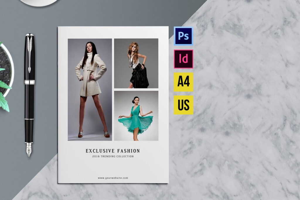 Fashion Product Brochure Catalog