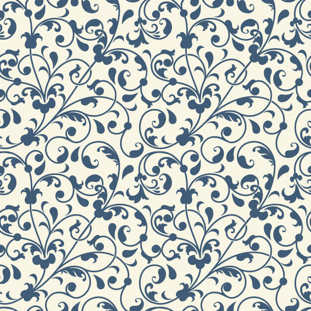 Flower seamless pattern background Free Vector (1)