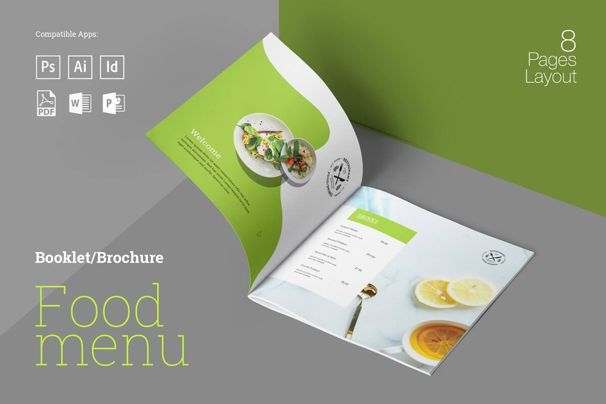 Food Menu Booklet (1)