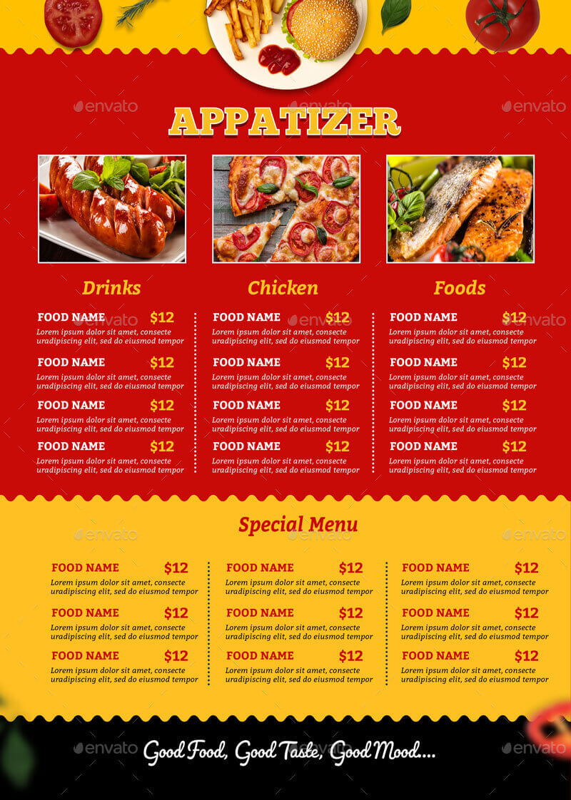 Food Menu Flyer Template (1)