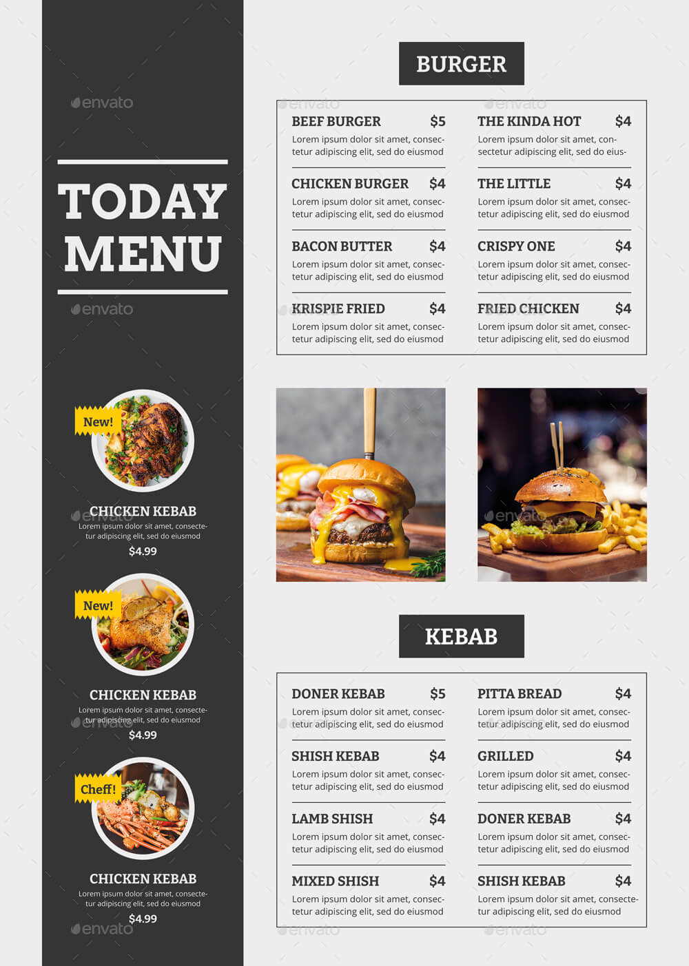 Food Menu Trifold Brochure v1 (2)