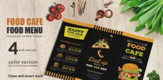 Food Menu Trifold Brochure v1 (3)