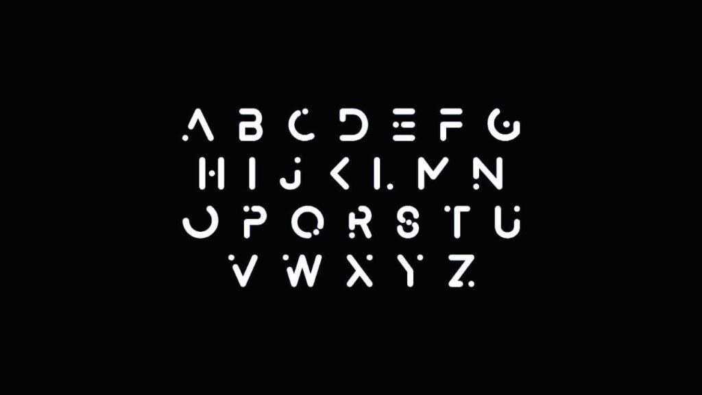 Free Abstract Minimal Alexana Neue Typeface2