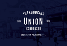 Free Accessible Union Condensed Font1