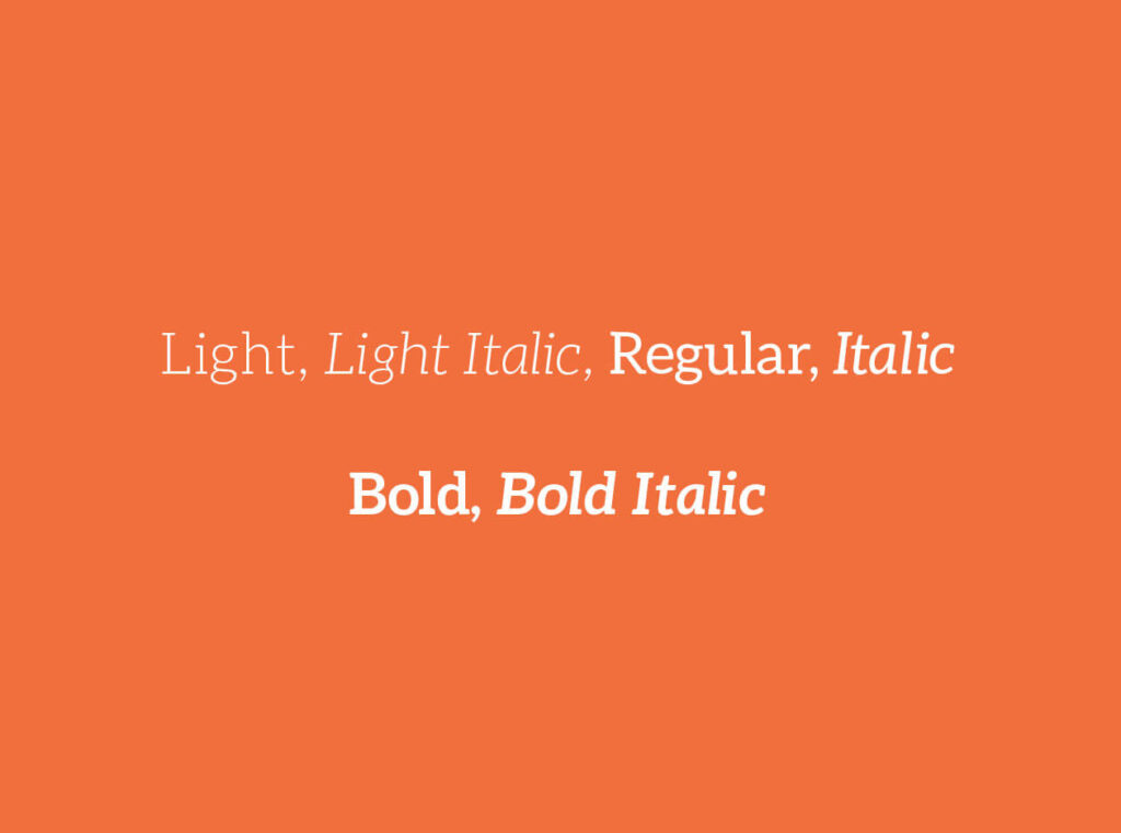 Free Aleo Slab Typeface2
