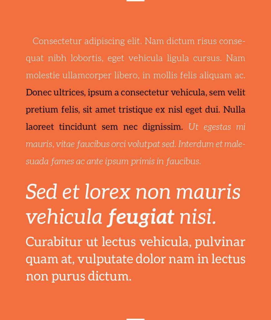 Free Aleo Slab Typeface3