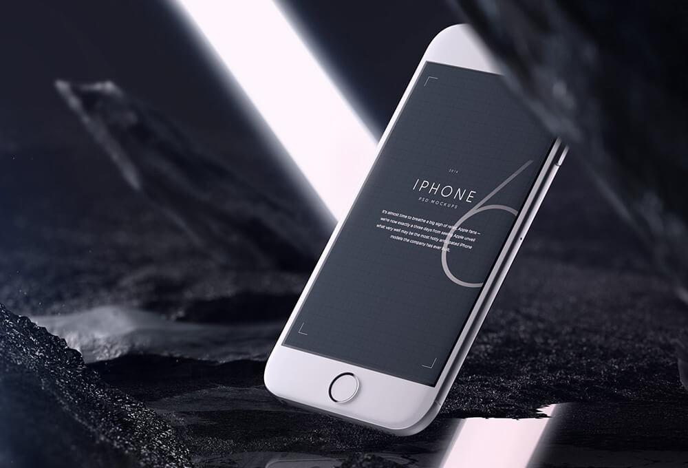 Free Amazing iPhone 6 Mockups PSD Templates1