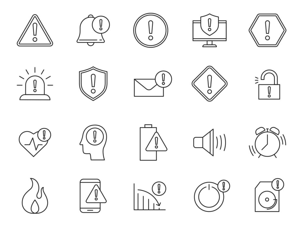 Free And Useful 20+ Alert Vector Icons