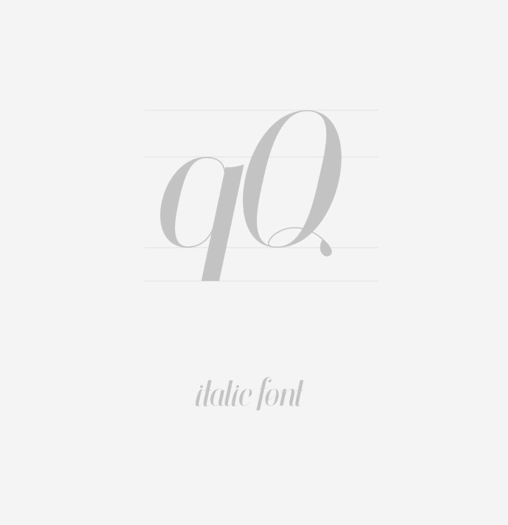 Free Attractive Finches Serif Italic Font2