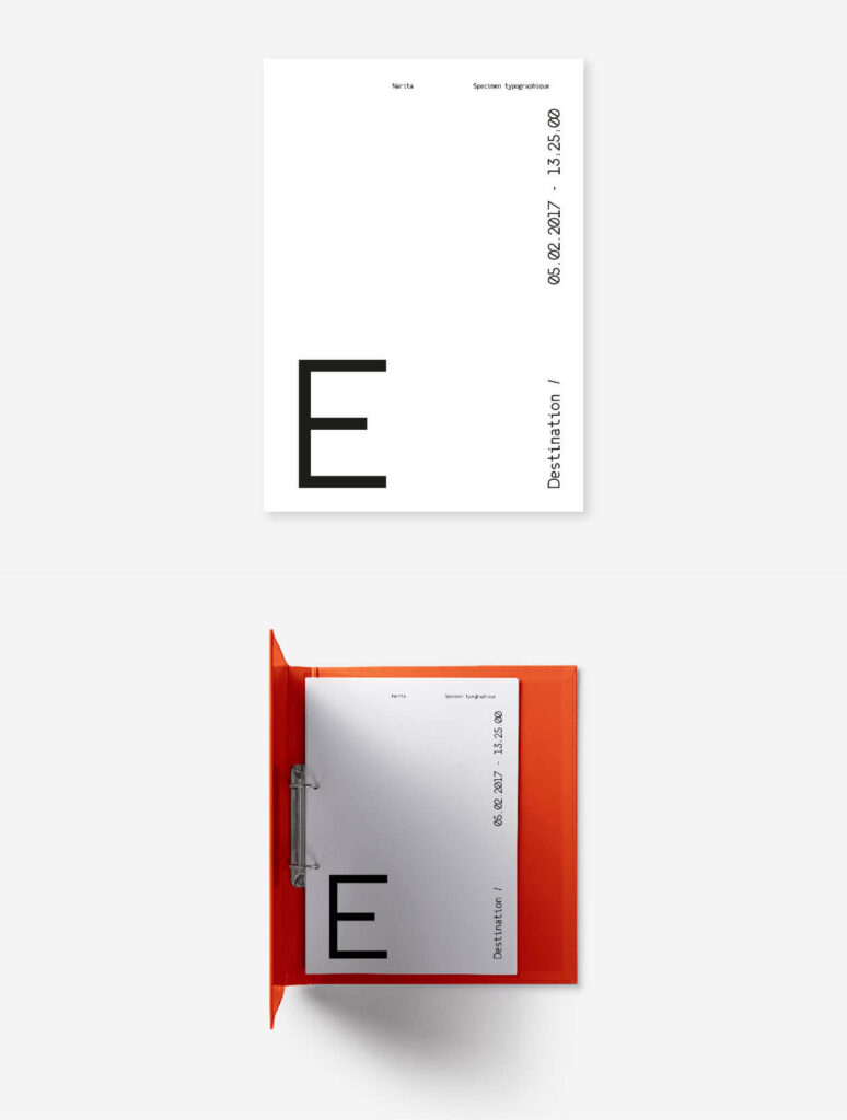 Free Attractive Narita Typeface3
