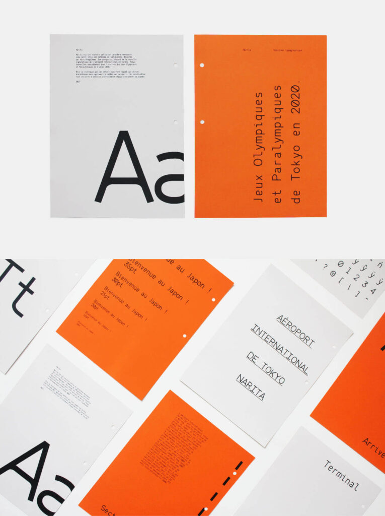 Free Attractive Narita Typeface4