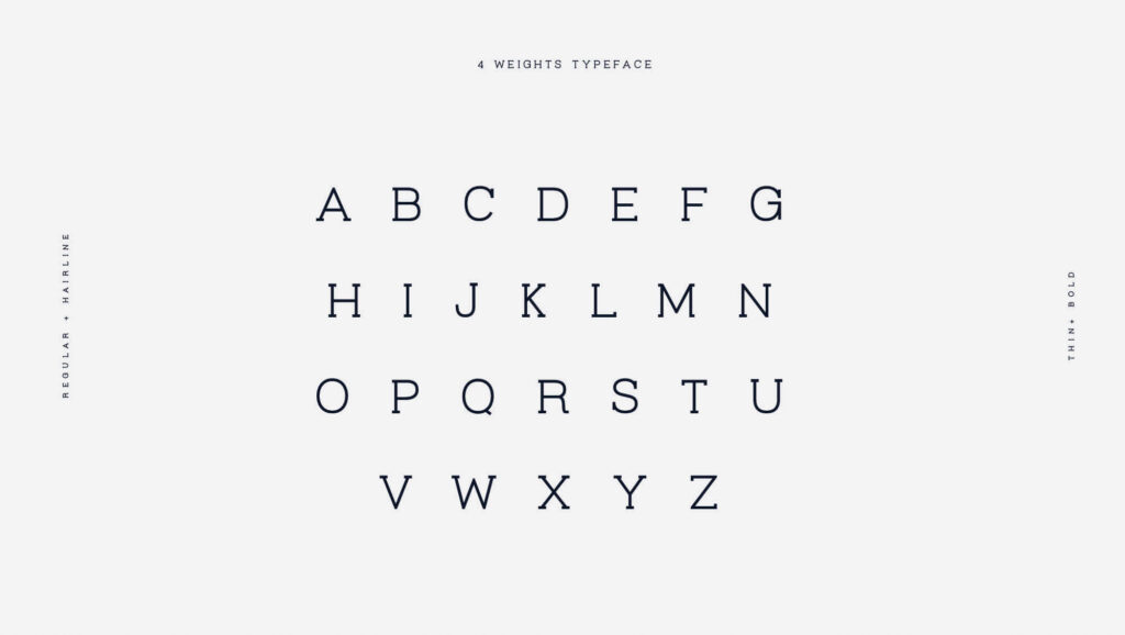 Free Beautiful Virtuous Slab Font2