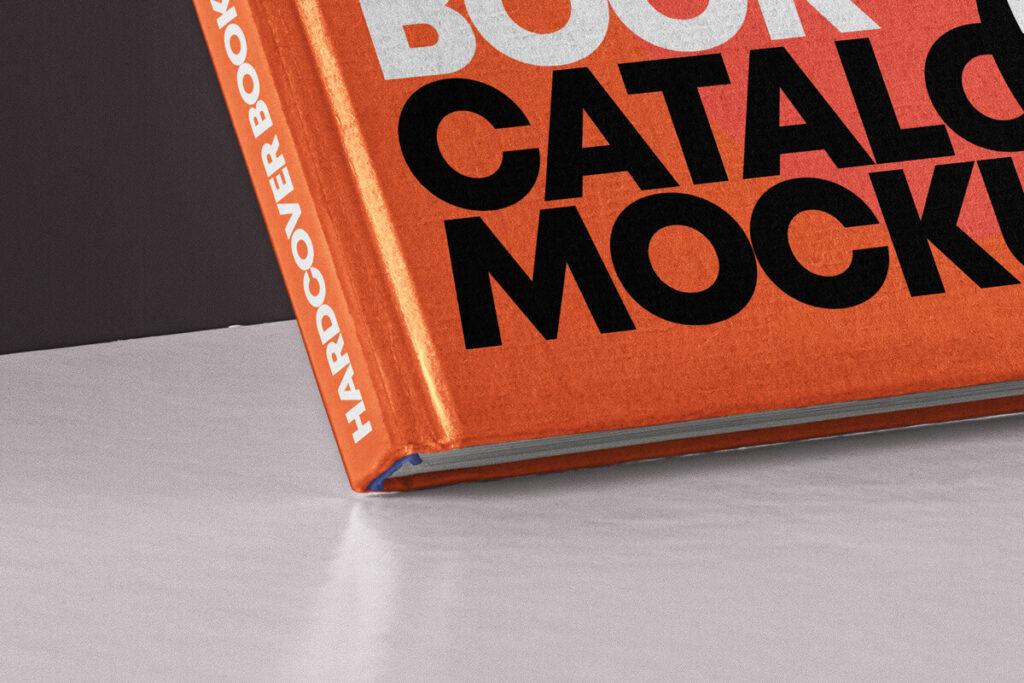 Free Branding Hardcover Book Catalog Mockup PSD Template3
