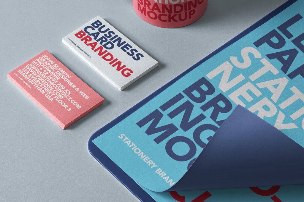 Free Branding Stationery Branding Mockup Set PSD Template1