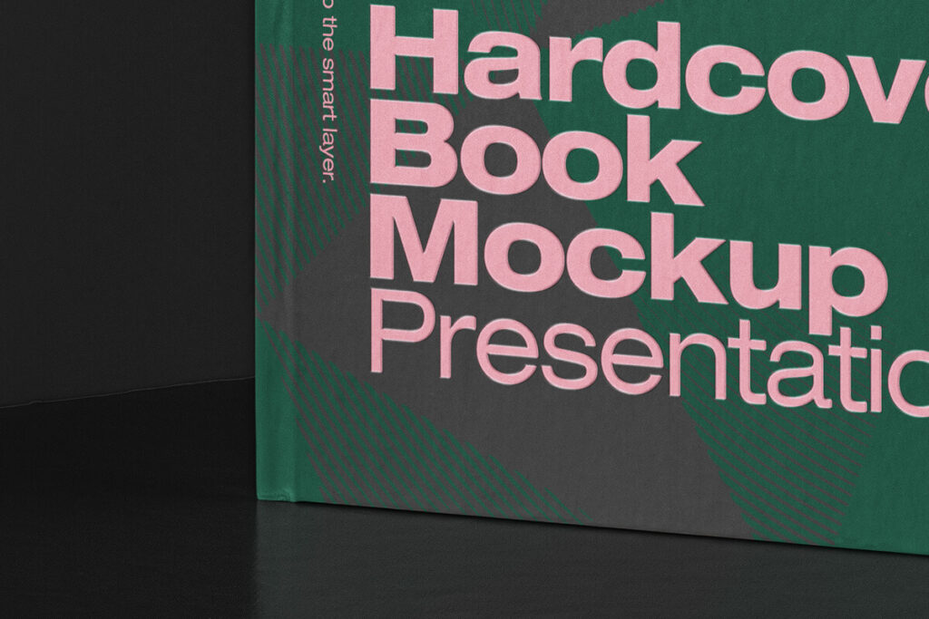 Free Classic Book Hardcover Mockup PSD Template3
