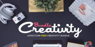 Free Creativity Mockups Bundle PSD Templates1