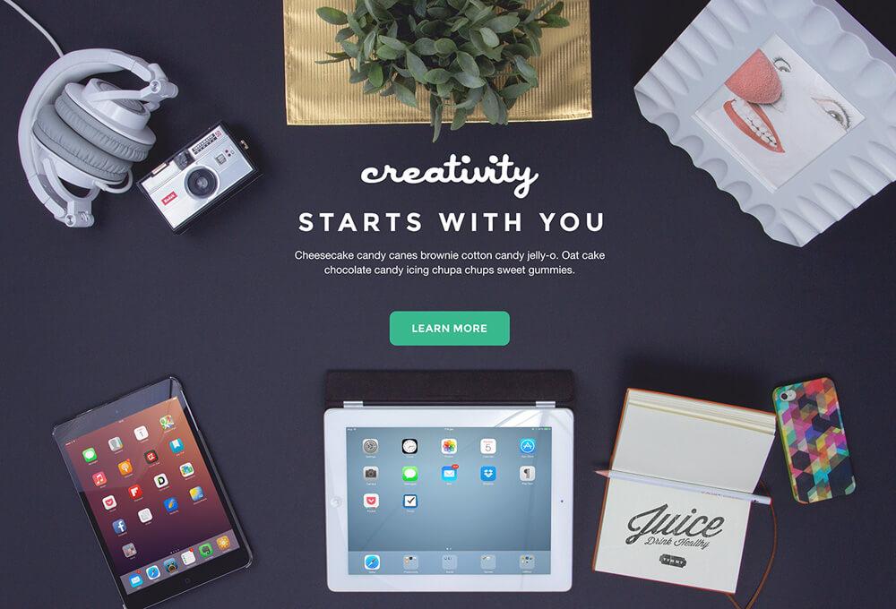 Free Creativity Mockups Bundle PSD Templates4