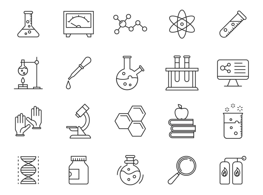 Free Customizable 20+ Laboratory Vector Icons