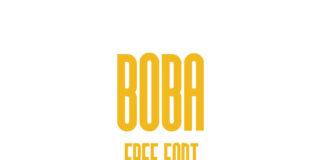 Free Displayable Boba Font