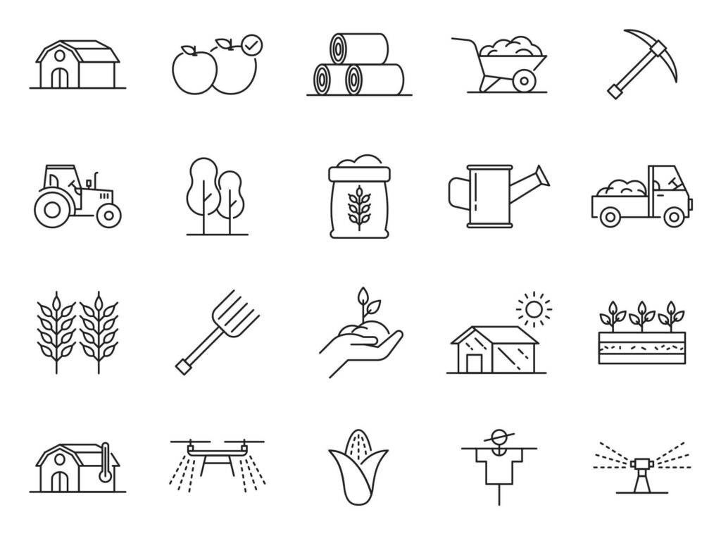 Free Editable 20+ Agriculture Vector Icons