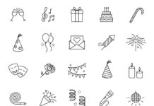 Free Editable 20+ Celebration Vector Icons
