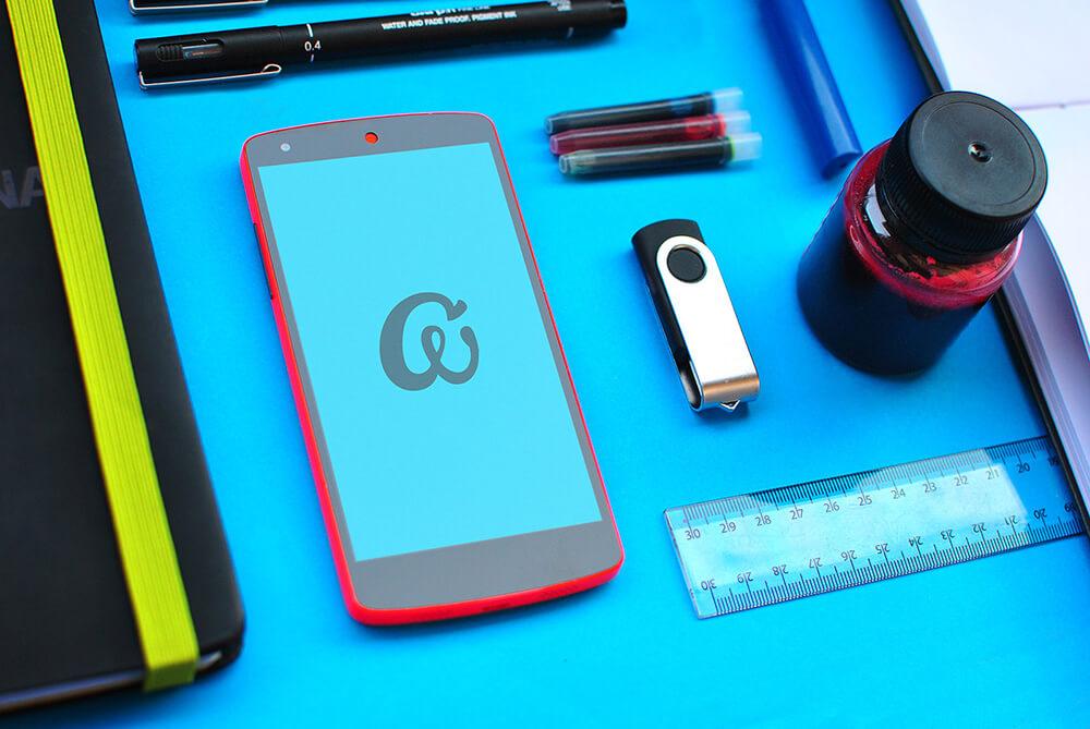 Free Editable Nexus 5 Mockups PSD Template3