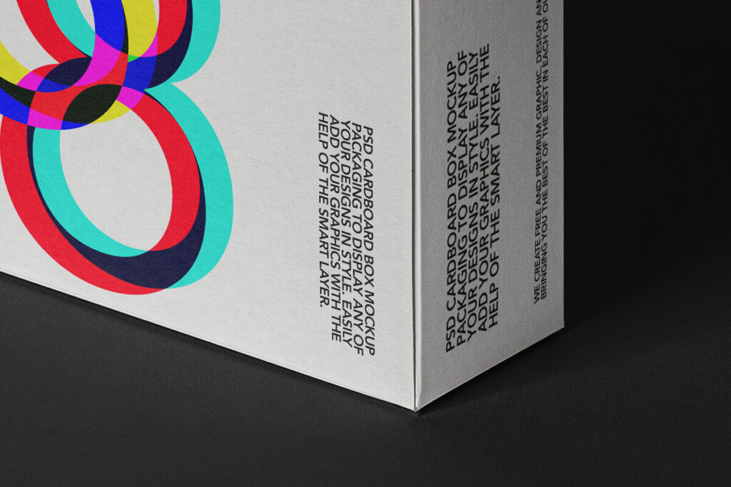 Free Editable Square Boxes Packaging Mockup PSD Template4