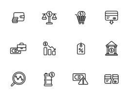 Free Editable Stroky16 Economy Vector Icons