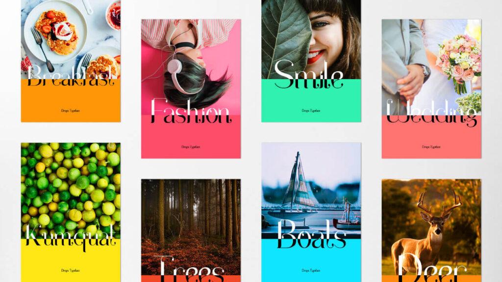 Free Elegant Drops Serif Typeface4