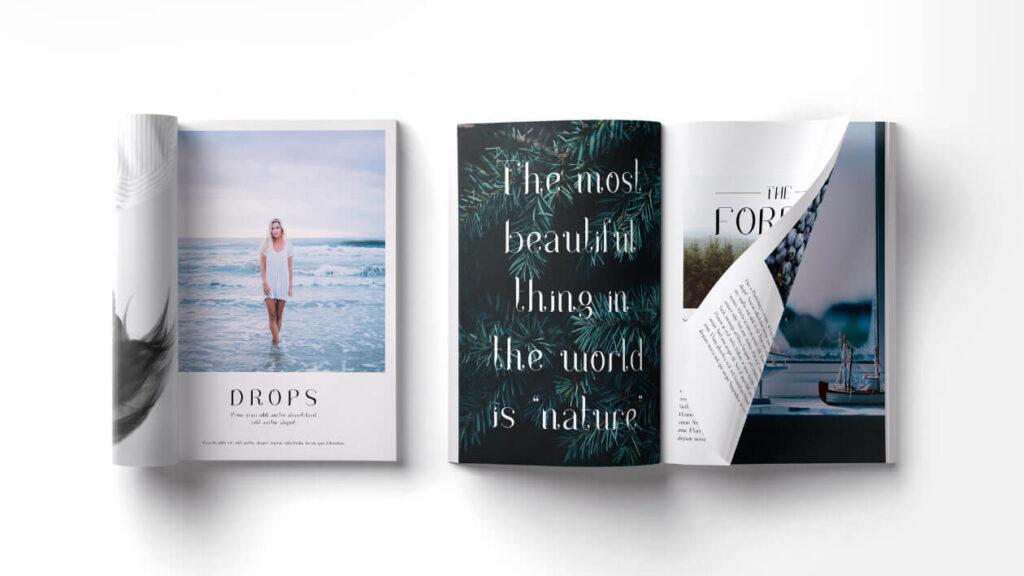 Free Elegant Drops Serif Typeface5