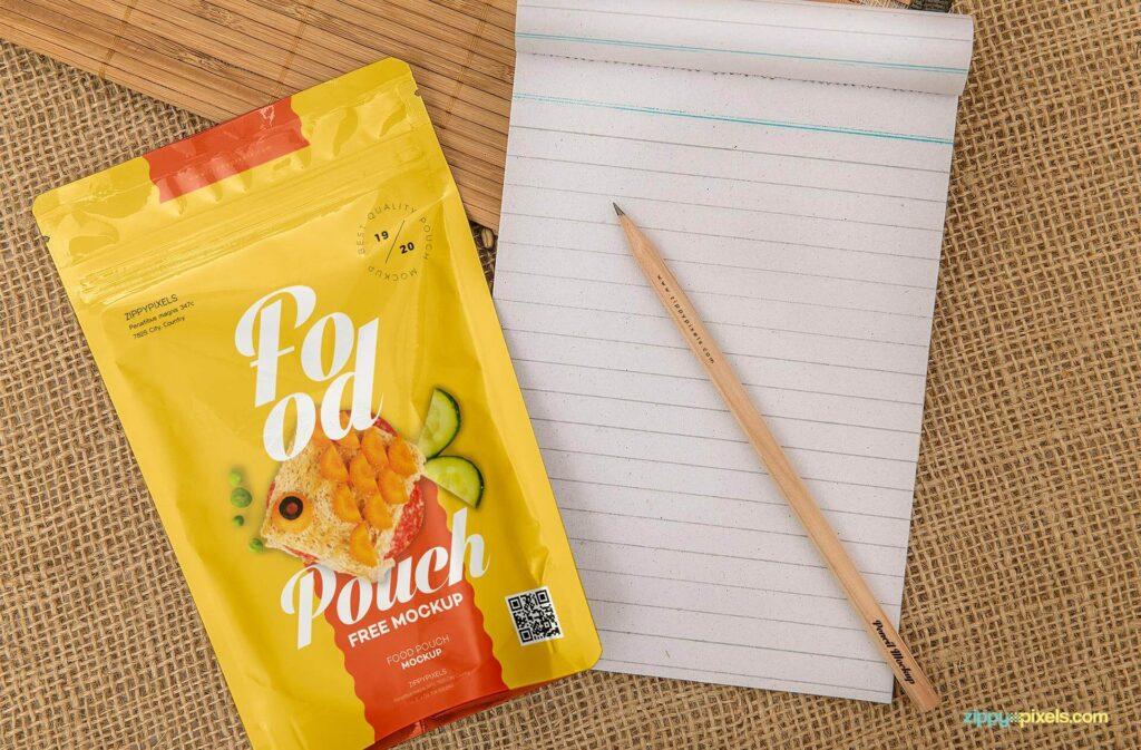Free Food Pack Mockup4