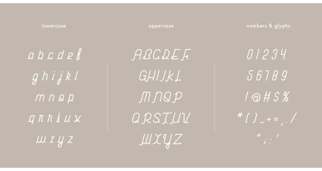Free Habitual Digital Handwriting Typeface2