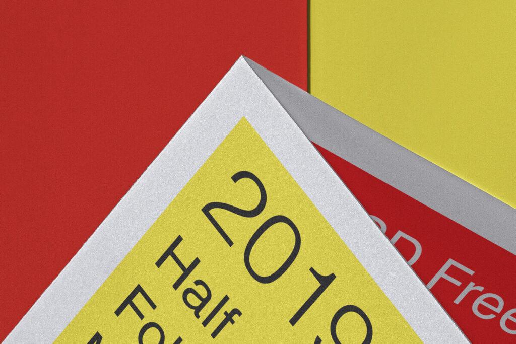 Free Half Fold Brochure Mockup US A4 PSD Template2