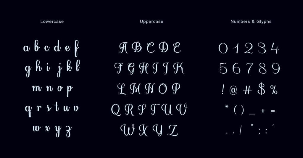 Free Handwritten Florence Script Typeface2