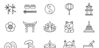 Free Largest Asia Vector Icons