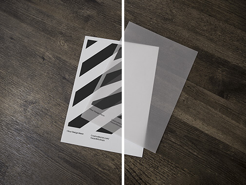 Free Mainstream Paper Poster Mockups PSD Template3