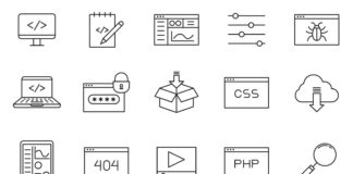 Free Modern 20+ Coding Vector Icons