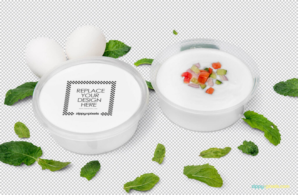 Free Modern Disposable Soup Bowl Mockup PSD Template1