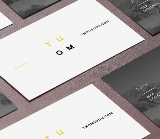 Free Original Business Card Mockups PSD Templates1