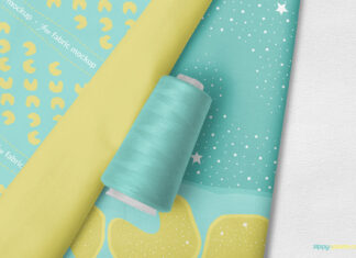 Free Photorealistic Amazing Fabric Mockup PSD Template1