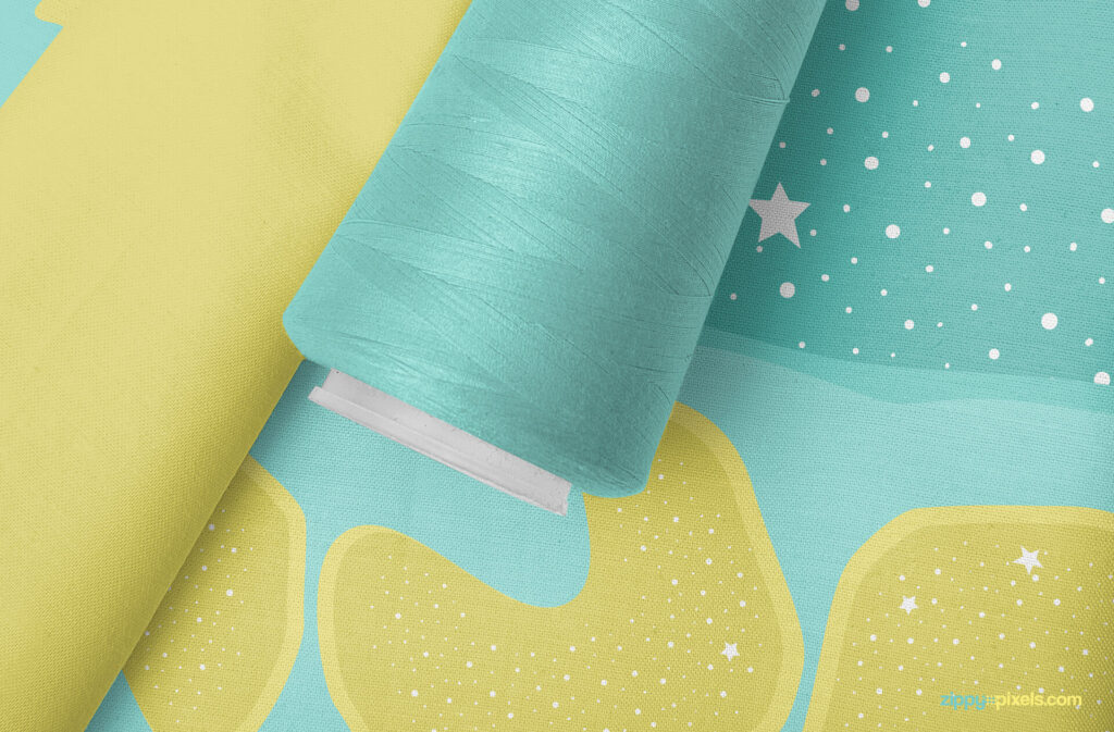 Free Photorealistic Amazing Fabric Mockup PSD Template5