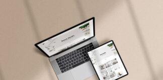 Free Photorealistic Multi Devices Mockup Scene PSD Template1