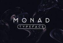 Free Realistic Monad Sans Serif Typeface