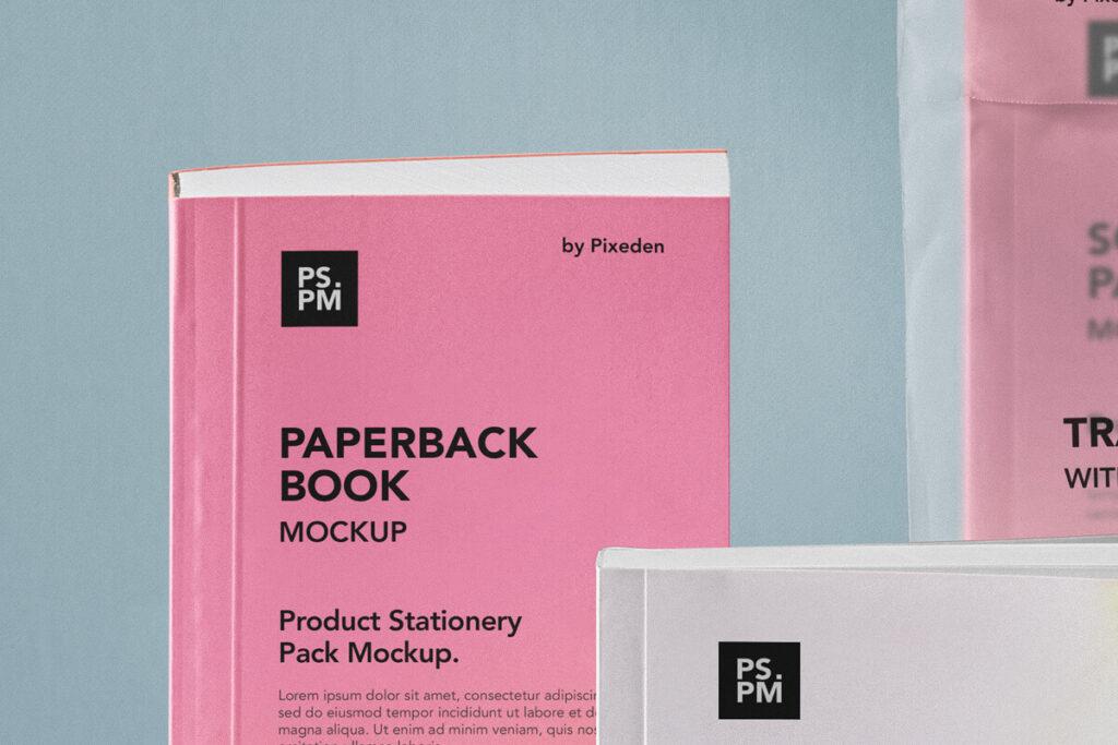 Free Realistic Product Manual Mockup PSD Templat5