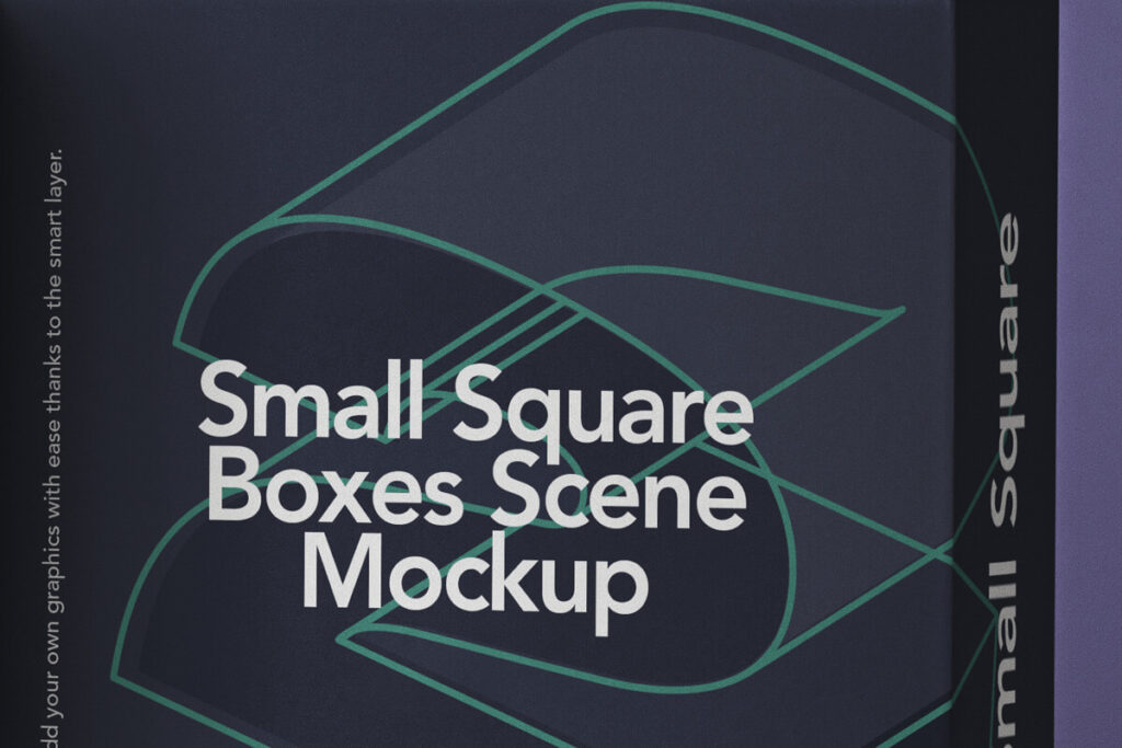 Free Small Square Box Mockup Set PSD Template4