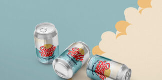 Free Smart Soft Drink Can Mockup PSD Template