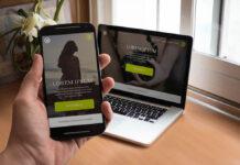 Free Smartphone and Macbook Pro Mockups PSD1