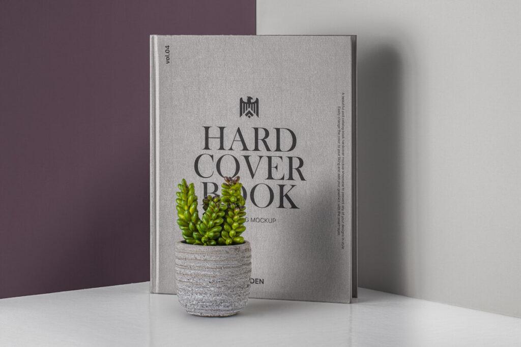 Free Stunning Hardcover Book Catalog Mockup PSD Template1
