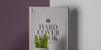 Free Stunning Hardcover Book Catalog Mockup PSD Template1
