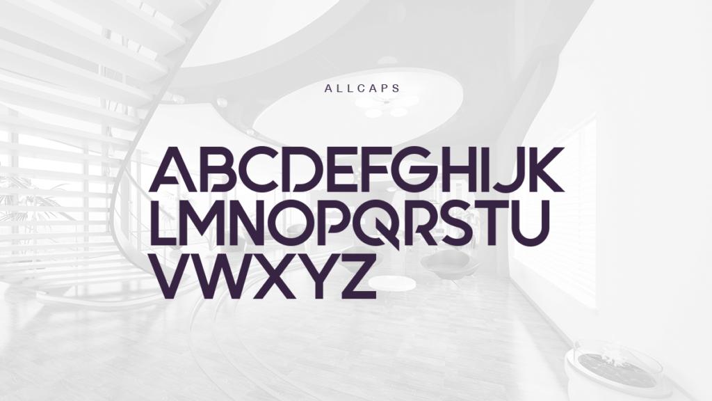 Free Tremendous Quantify Font4